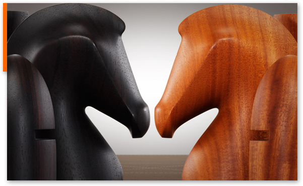Challenge your friends and go for the checkmate at Hermes.com