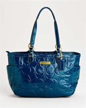 Brand New Coach Genuine Leather Embossed Handbag $219