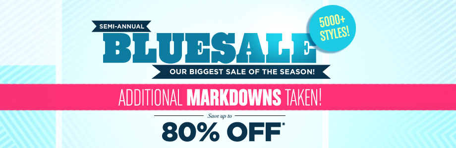 Our Biggest Sale of the Season
