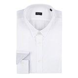 Paul Smith Shirts - White Jacquard Shirt