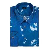 Paul Smith Shirts - Blue Sunlight Floral Print Shirt