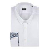 Paul Smith Shirts - White Contrast Cuff Shirt