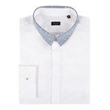 Paul Smith Shirts - White Contrast Collar Shirt