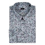 Paul Smith Shirts - Grey Lucerne Floral Print Shirt