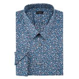Paul Smith Shirts - Turquoise Floral Shirt