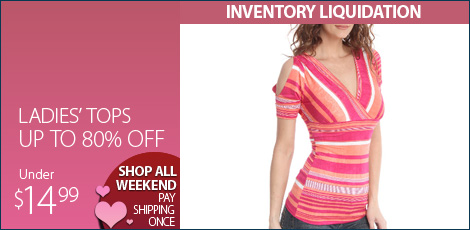 Ladies' Tops under 14.99