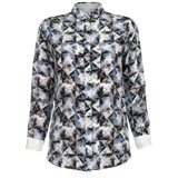 Paul Smith Shirts - Folded Floral Print Silk Shirt