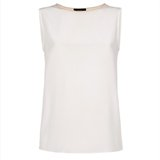 Paul Smith Tops - Cream Silk Vest Top>