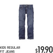 KIDS REGULAR FIT JEANS