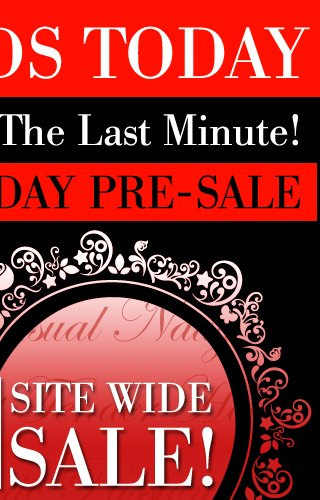 Sale Ends Today! Don't Wait Until The Last Minute! Valentine's Day Pre-Sale. Save 25% OFF SITE WIDE SALE! SHOP FOR YOUR VALENTINE. Use Code VDAY25 FREE U.S. SHIPPING on orders of $50 or more.