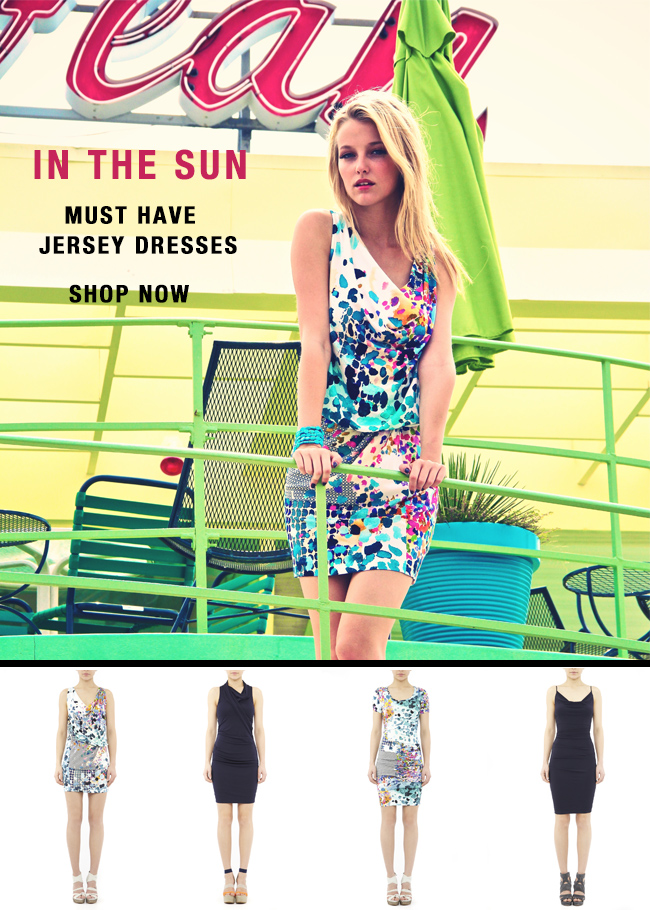 Must have jersey dresses - shop now