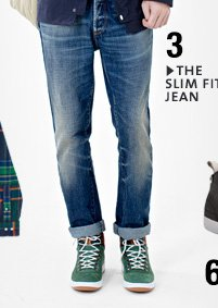 THE SLIM FIT JEAN