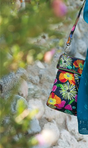 Convertible Crossbody in Jazzy Blooms