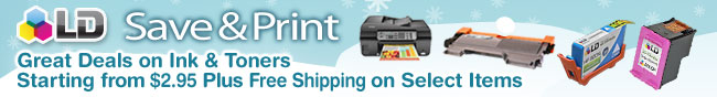 Save & Print. Great Deals on Ink & Toners Starting from $2.95 Plus Free Shipping on Select Items.