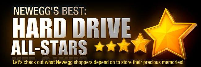 NEWEGG'S BEST: HDD ALL-STARS