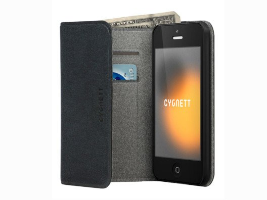 Leave your wallet behind and slide in your license and 3 credit cards into the 4 slots of this soft leather iPhone case.