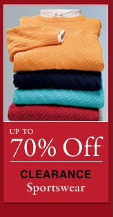 Up To 70% OFF Clearance Sportswear