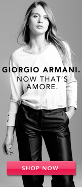 Giorgio Armani. Shop Now.