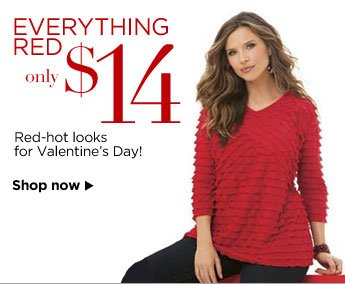 Everything Red $14