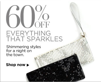 60% off Everything That Sparkles