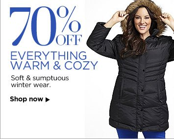 70% off Everything Warm And Cozy