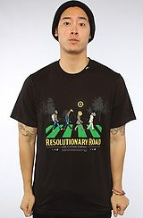 The Resolutionary Road Tee in Black