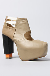 The Hindy Booties in Beige