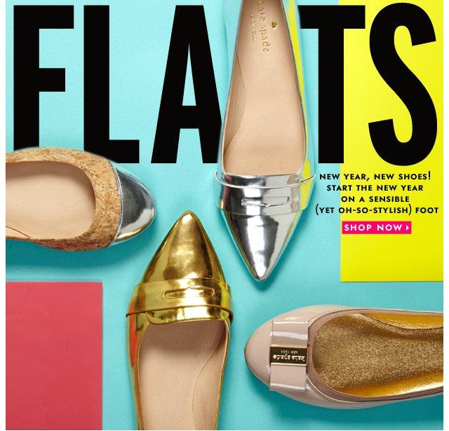flats. shop now.