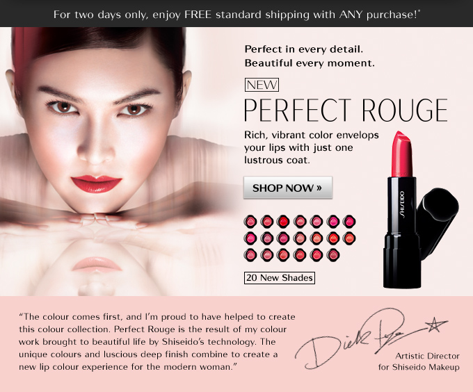 NEW Perfect Rouge Collection