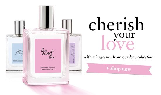 cherish your love with a fragrance from our love collection - shop now