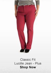 CLASSIC FIT  LUCILLE JEAN - PLUS SHOP NOW