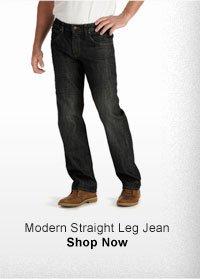 MODERN STRAIGHT LEG JEAN SHOP NOW