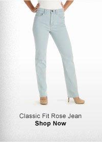 CLASSIC FIT ROSE JEAN SHOP NOW