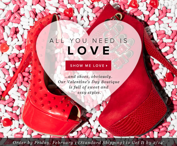 Love It: Sweet & Sexy Valentine's Day Styles - Shop the Boutique