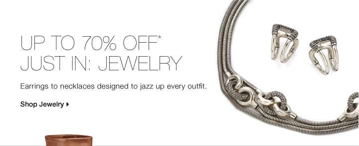 Up To 70% Off*Just In: Jewelry
