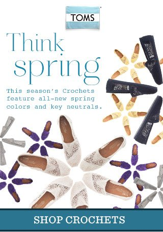 Think Spring - Shop Crochets