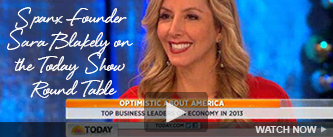 SPANX Founder, Sara Blakely on the Today Show Round Table. Watch Now!