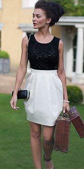 V I P Embellished Top Dress