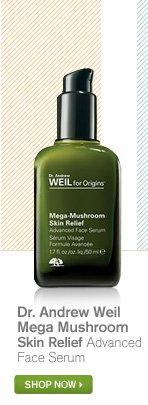 Dr Andrew Weil Mega Mushroom Skin Relief Advanced Face Serum SHOP NOW