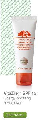 VitaZing SPF 15 Energy boosting moisturizer SHOP NOW