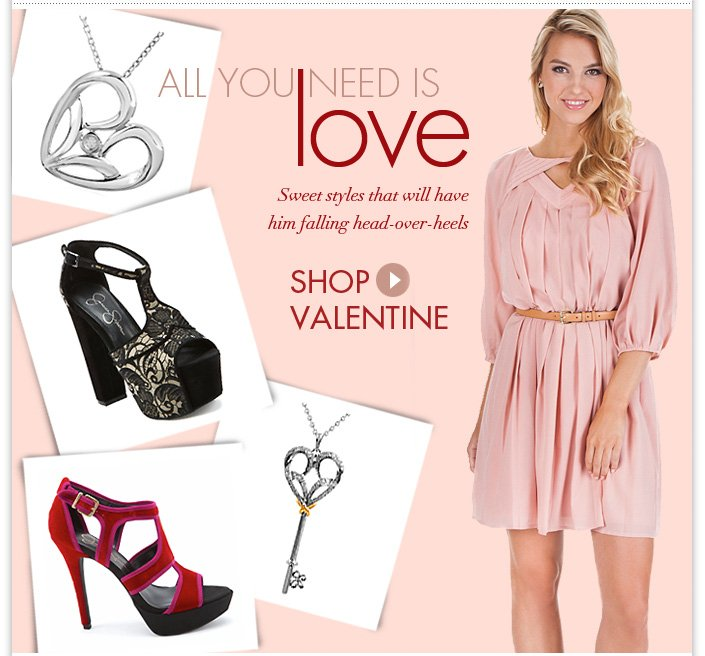 A Valentines collection that will make him swoon! Plus additional 50% OFF Sale.