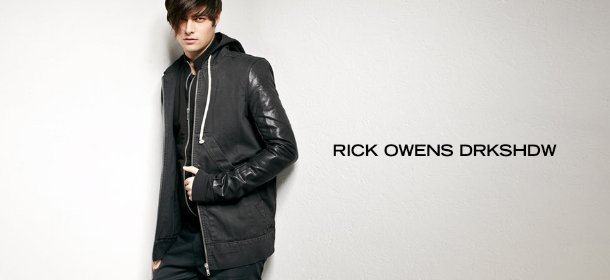 RICK OWENS DRKSHDW, Event Ends January 28, 9:00 AM PT >