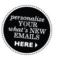Personalize your what's new emails