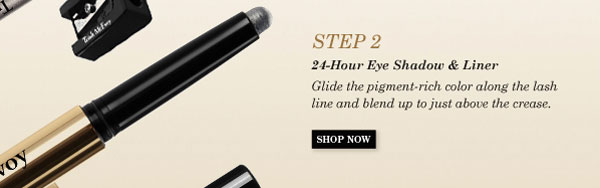 Step 2 - 24-Hour Eye Shadow & Liner