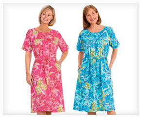 Tropical Day Dress