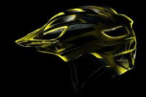 A1 Cyclops Gold Metal Flake Helmet
