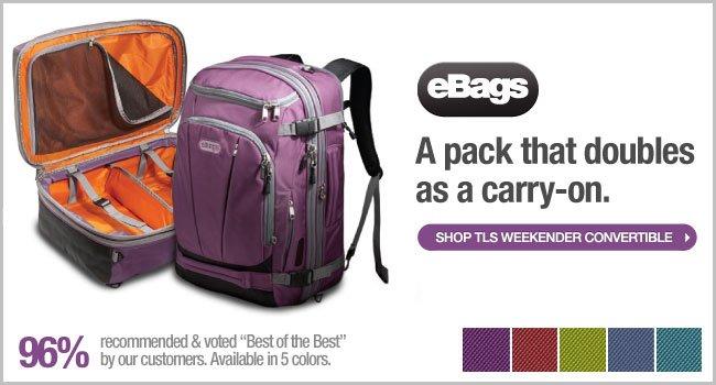 Shop eBags TLS Weekender Convertible >