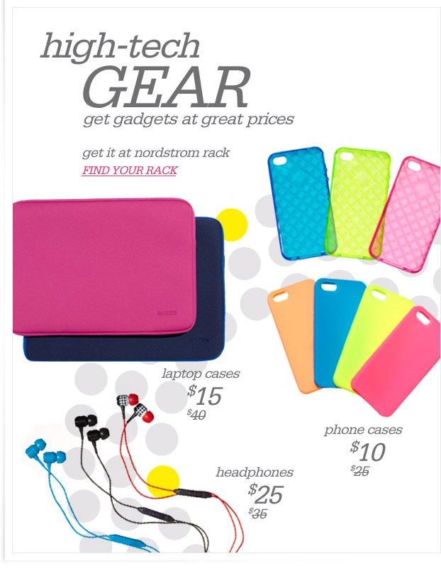 high-tech GEAR - get gadgets at great prices