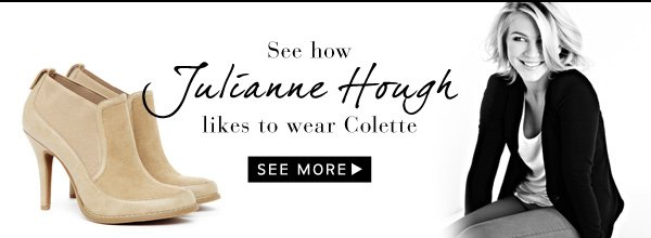 See how Julianne Hough likes to wear Colette