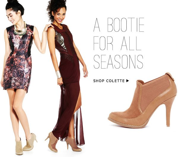 A Bootie For All Seasons. Shop Colette